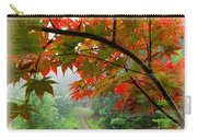 Fire Fog Carry-all Pouch by Debra and Dave Vanderlaan