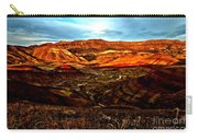 Fire In The Painted Hills Carry-all Pouch