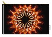 Fire Kaleidoscope Effect Carry-all Pouch