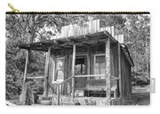 Fireman Cottage B And W Carry-all Pouch by Douglas Barnard