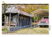 Fireman Cottage Carry-all Pouch by Douglas Barnard