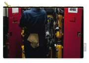 Fireman Stows A Self-contained Carry-all Pouch