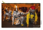 Firemen Brace For Shock Carry-all Pouch by Stocktrek Images