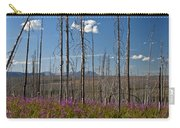 Fireweed  Epilobium Angustifolium Glacier National Park Usa -1 Carry-all Pouch