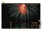 Fireworks Of Green And Red Carry-all Pouch