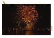 Fireworks On River Thames Carry-all Pouch