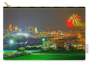 Fireworks Over The City Skyline Carry-all Pouch