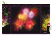 Fireworks Triptych Carry-all Pouch