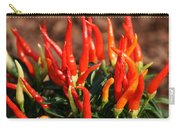 Firey Red Hot Chili Peppers Carry-all Pouch