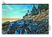 First Light At Bass Harbor Carry-all Pouch