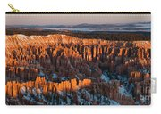 First Light At Bryce Canyon Carry-all Pouch