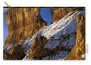 First Snow At Bryce Canyon Carry-all Pouch