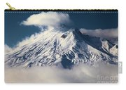 First Snow At Mt St Helens Carry-all Pouch