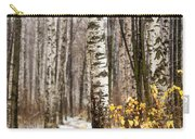 First Snow. Hidden Path Carry-all Pouch