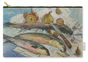 Fish Soup Carry-all Pouch by Juliya Zhukova