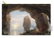 Fisherman In A Grotto Helgoland Carry-all Pouch by Christian Ernst Bernhard Morgenstern