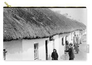 Fishermans Cottages In Claddagh Ireland Carry-all Pouch