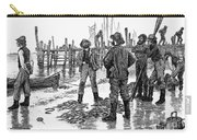 Fishermen On Shore, 1884 Carry-all Pouch