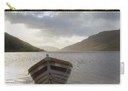 Fishing Boat Moored On Lough Nafooey Carry-all Pouch