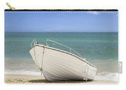 Fishing Boat On The Beach Carry-all Pouch