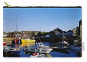 Fishing Boats At A Harbor, Slade Carry-all Pouch