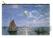 Fishing Boats By Moonlight Carry-all Pouch