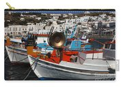 Fishing Boats Mykonos Carry-all Pouch