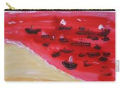 Fishing Boats On A Red Sea Carry-all Pouch