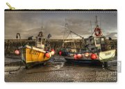 Fishing Boats On The Cobb Carry-all Pouch