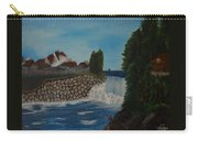 Fishing By The Falls Carry-all Pouch
