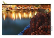 Fishing Harbour At Dusk Carry-all Pouch