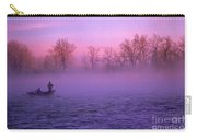Fishing On The Bow Carry-all Pouch by Bob Christopher
