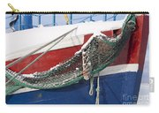 Fishing Vessel In Winter's Rest Carry-all Pouch