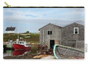 Fishing Village In Nova Scotia Carry-all Pouch