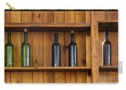 Five Bottles Carry-all Pouch by Carlos Caetano