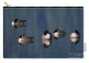 Five Geese Napping Carry-all Pouch