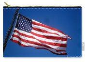 Flag On The Ladder Carry-all Pouch