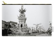 Flamboyant Clock Tower Carry-all Pouch