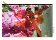 Flame Skimmer Dragonfly Carry-all Pouch