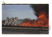 Flames Billow Out Of The Burn Pit Carry-all Pouch