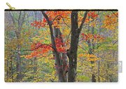Flaming Fall Foliage Carry-all Pouch