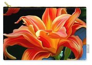 Flaming Flower Carry-all Pouch