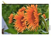 Flaming Sunflowers Carry-all Pouch