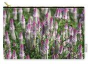 Flamingo Feather Flowers Carry-all Pouch
