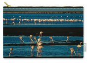 Flamingo Gathering Carry-all Pouch