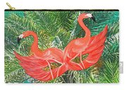 Flamingo Mask 4 Carry-all Pouch