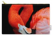 Flamingo Preening Carry-all Pouch