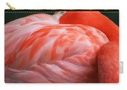 Flamingo Taking A Snooze Carry-all Pouch