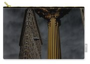 Flatiron Building And Clock Carry-all Pouch