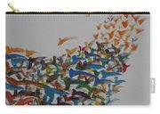 Fleet Of Birds Carry-all Pouch